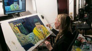 Ser para hacer arte, ser para crecer: Loving Vincent